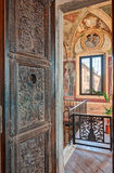 La abadía de Monte Oliveto Maggiore Imágenes de archivo libres de regalías