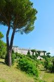 La abadía de Montecassino Fotografía de archivo libre de regalías