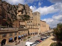 La abadía de Montserrat, España Imágenes de archivo libres de regalías