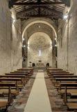 La abadía de S Maria Assunta Imagen de archivo libre de regalías