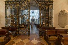 La abadía de San Pedro que visita en Salzburg Foto de archivo