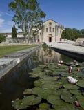 La abadía de Silvacane Imagen de archivo libre de regalías