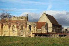 La abadía de St Augustine, Cantorbery Fotos de archivo libres de regalías