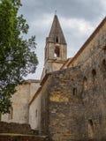 La abadía de Thoronet en Francia Imágenes de archivo libres de regalías