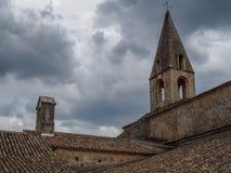 La abadía de Thoronet en Francia Fotos de archivo libres de regalías
