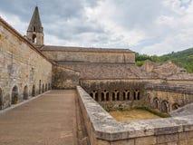 La abadía de Thoronet en Francia Foto de archivo libre de regalías