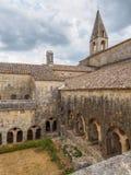 La abadía de Thoronet en Francia Fotografía de archivo