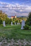 La abadía de Tihany Fotografía de archivo libre de regalías
