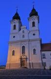 La abadía de Tihany Foto de archivo libre de regalías