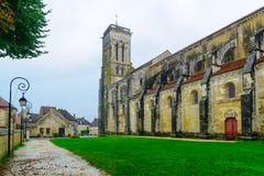 La abadía de Vezelay Fotos de archivo libres de regalías