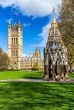 La abadía de Westminster vista de la torre de Victoria cultiva un huerto, Londres, Reino Unido Fotografía de archivo