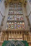La abadía del baño en Inglaterra Imagen de archivo libre de regalías