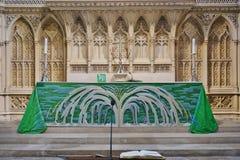 La abadía del baño en Inglaterra Foto de archivo libre de regalías