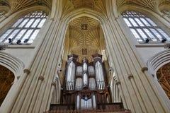 La abadía del baño en Inglaterra Fotografía de archivo libre de regalías