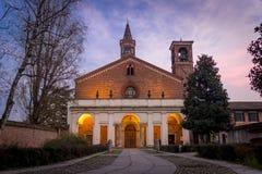 La abadía del chiaravelle imagen de archivo libre de regalías