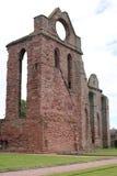 La abadía histórica de Arbroath en Escocia, Gran Bretaña Fotografía de archivo
