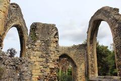 La abadía medieval arruina la catedral Reino Unido de Cantorbery Foto de archivo libre de regalías