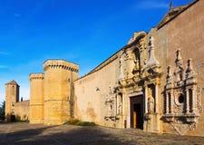 La abadía real de Santa Maria de Poblet Fotos de archivo