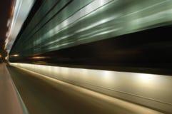 La abstracción arquitectónica de la noche. Fotos de archivo libres de regalías