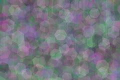La abstracción multicolora borrosa withmulticolored la abstracción brillante del humo verde púrpura y del resplandor del rosa en  ilustración del vector
