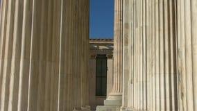 La academia de Atenas, Grecia almacen de video
