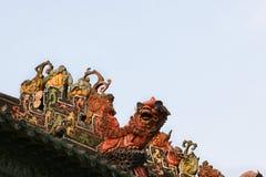 Academia del clan de Chen foto de archivo