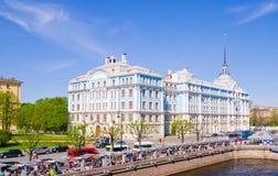La Academia Naval de Nakhimov en St Petersburg, Rusia Imagen de archivo libre de regalías