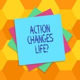 La acción del texto de la escritura cambia cosas Significado del concepto que supera adversidad tomando medidas en múltiplo de lo libre illustration