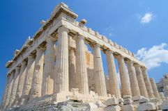 La acrópolis, Atenas Fotos de archivo libres de regalías