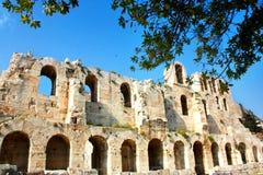 La acrópolis de Atenas fotos de archivo