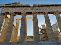 La acrópolis de Atenas, Grecia fotos de archivo libres de regalías