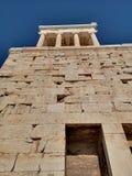 La acrópolis de Atenas, Grecia foto de archivo