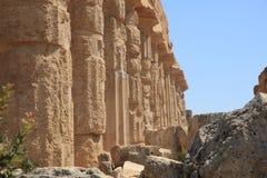 La acrópolis en Selinuntely Imagenes de archivo