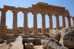 La acrópolis en Selinuntely Fotos de archivo libres de regalías