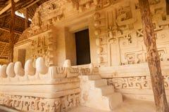 La acrópolis, sitio maya de Ek Balam, México Imágenes de archivo libres de regalías