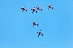 La acrobacia aérea Fotografía de archivo