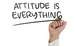 La actitud es todo Imagenes de archivo