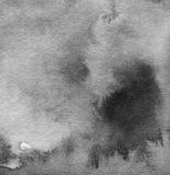 La acuarela abstracta pintó el fondo Fotos de archivo