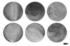 La acuarela circunda descolorido Imagen de archivo libre de regalías