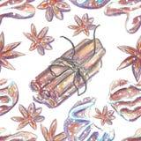 La acuarela dibuja con creyón el fondo de la Navidad Foto de archivo