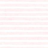 La acuarela pintada a mano texturizó el modelo inconsútil rayado en el fondo blanco Foto de archivo libre de regalías