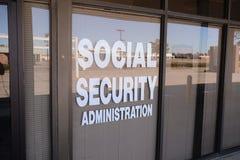 La administración de Seguridad Social foto de archivo