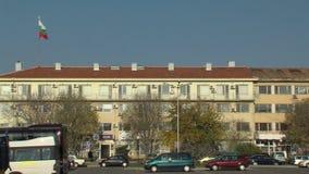 La administración Pomorie del edificio en Bulgaria