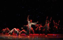 La adoración enseña- a danza del exorcismo de Nuo-The Imágenes de archivo libres de regalías