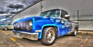 La aduana pintada americana coge el camión Fotografía de archivo libre de regalías