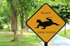 La advertencia animal canta Fotos de archivo
