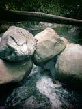 La-agua que nrs. cubre Stock Foto
