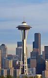 La aguja del espacio de Seattle Imagen de archivo libre de regalías