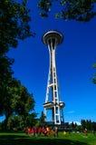 La aguja del espacio en Seattle Imagen de archivo libre de regalías