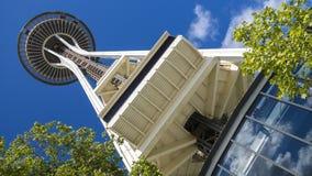 La aguja del espacio, Seattle, Washington, los E.E.U.U. Fotografía de archivo libre de regalías